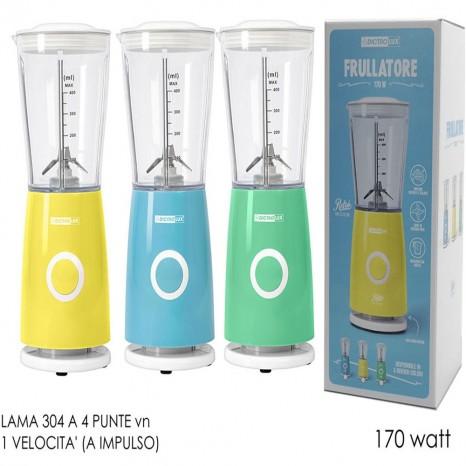 Frullatore Con Bicchiere Da 400 ML tritatutto per frutta da verdure legumi cucina 170W