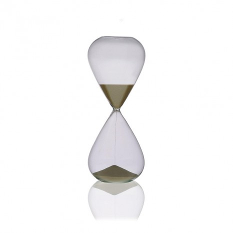 Clessidra in cristallo da 15 minuti