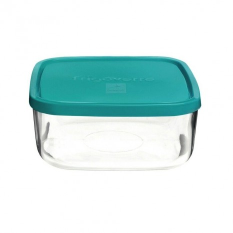 contenitore in vetro cm15x15