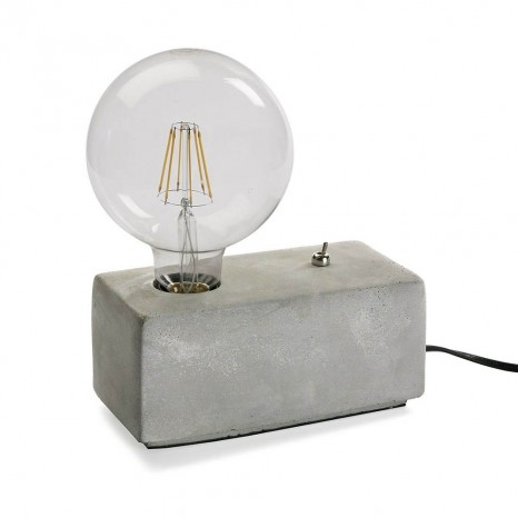 lampada da scrivania in pietra